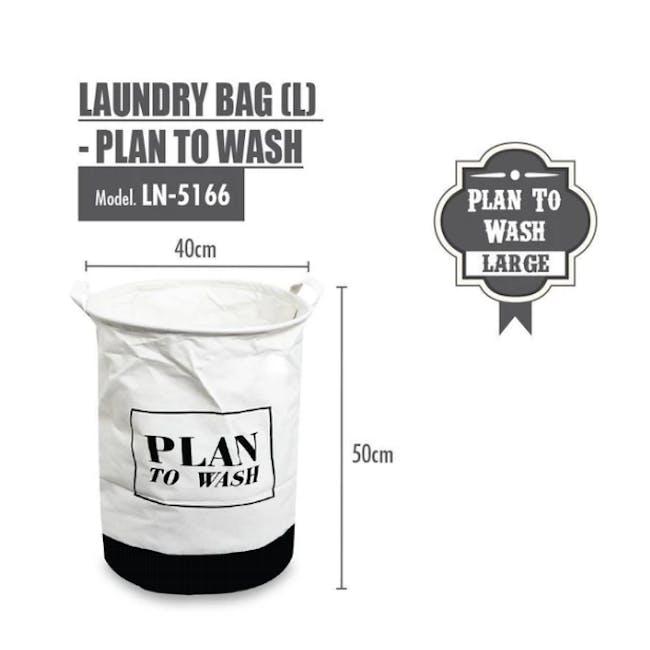 HOUZE Laundry Bag - Plan To Wash - 1