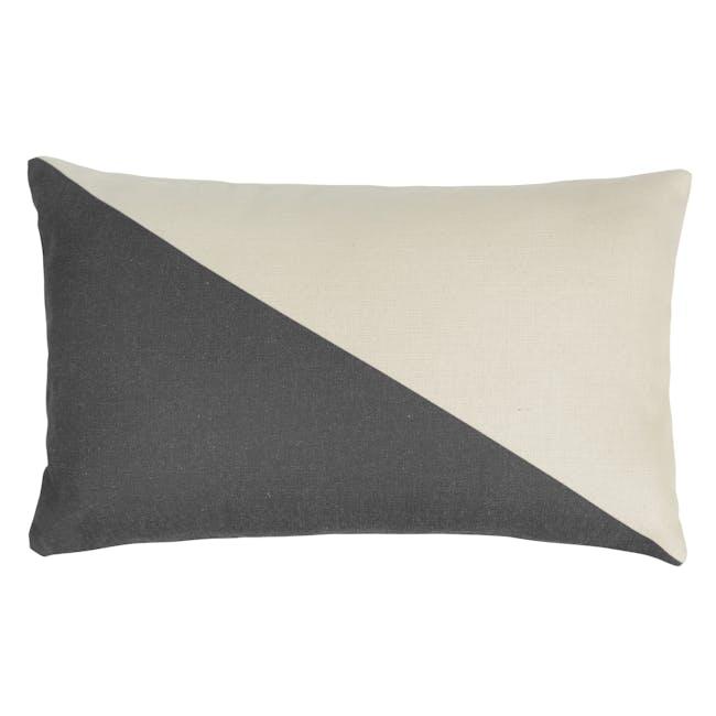 Trippy Lumbar Cushion Cover - Mono - 0