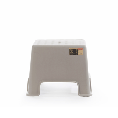 Button Stool - Ice Grey - Image 2