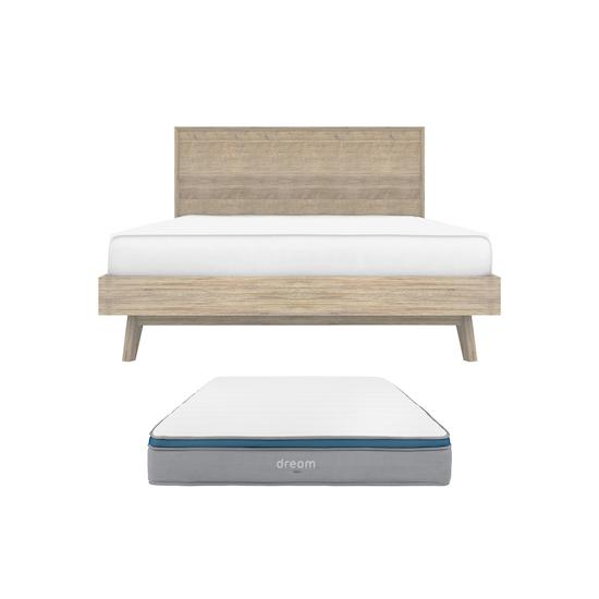 HipVan Bundles - Leland Queen Bed with DREAM Mattress