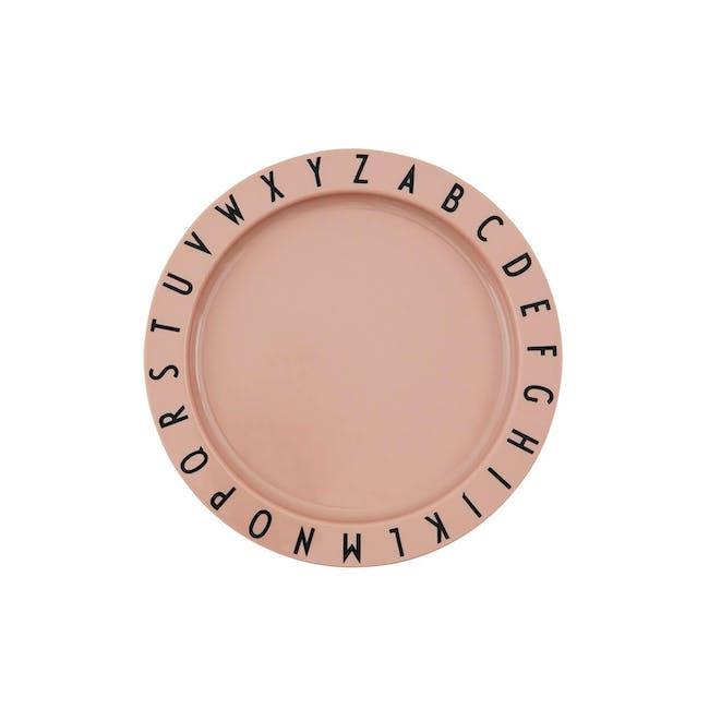 Eat & Learn plate tritan - Nude - 0