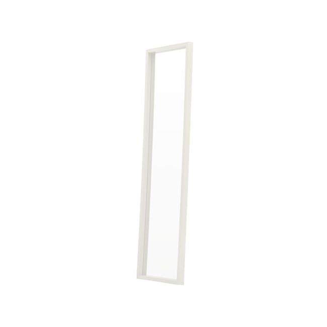 Nelson Full-Length Mirror 40 x 140 cm - White - 1