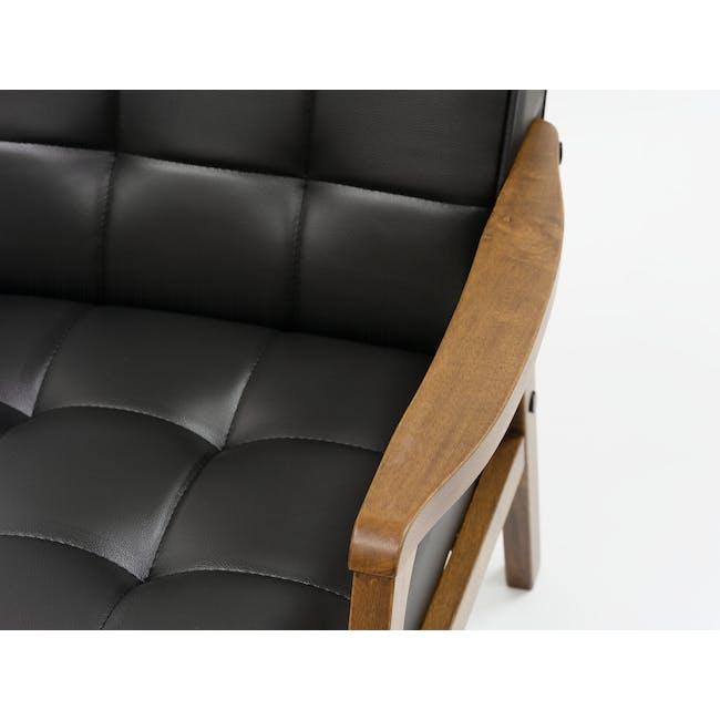 Tucson 3 Seater Sofa with Tucson Armchair - Espresso - 3