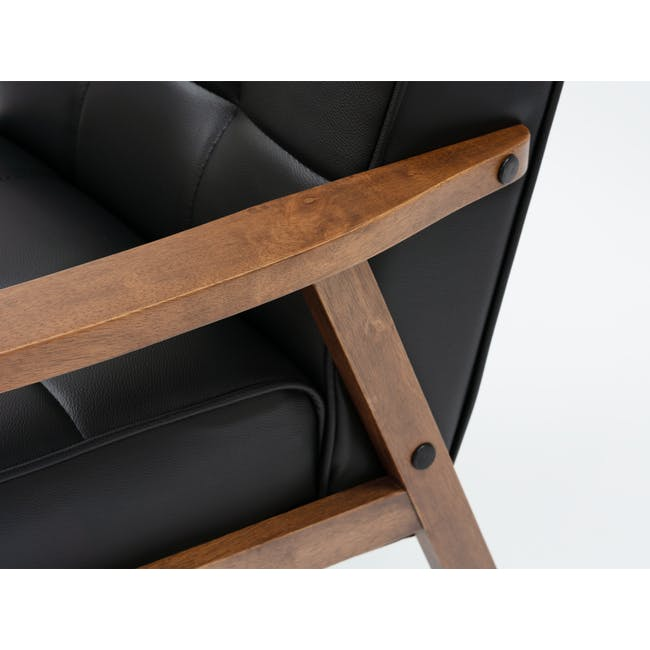 Tucson 3 Seater Sofa with Tucson Armchair - Espresso - 4