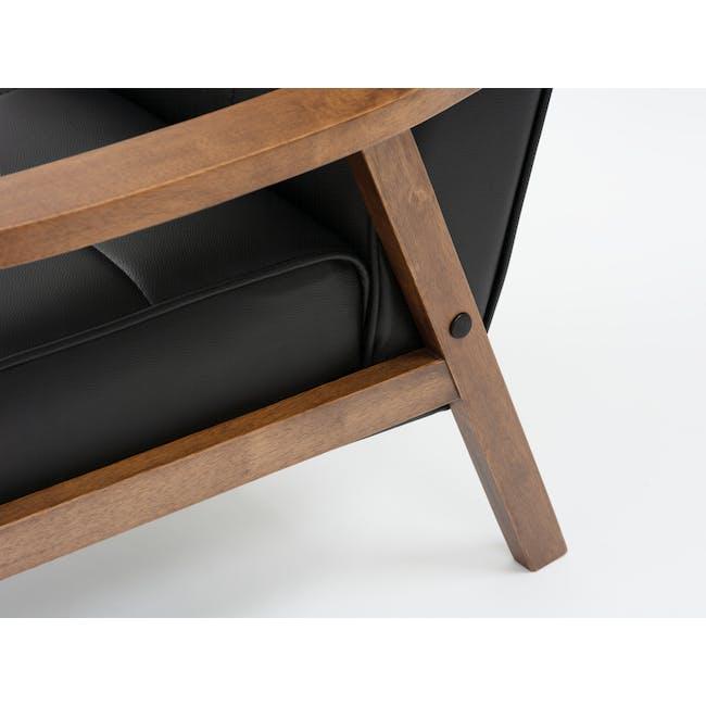 Tucson 3 Seater Sofa with Tucson Armchair - Espresso - 7