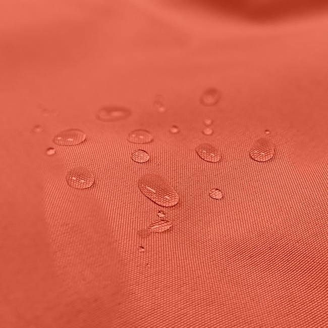 Splash Waterproof Outdoor Triangle Bean Bag - Orange - 2