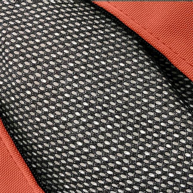 Splash Waterproof Outdoor Triangle Bean Bag - Orange - 3