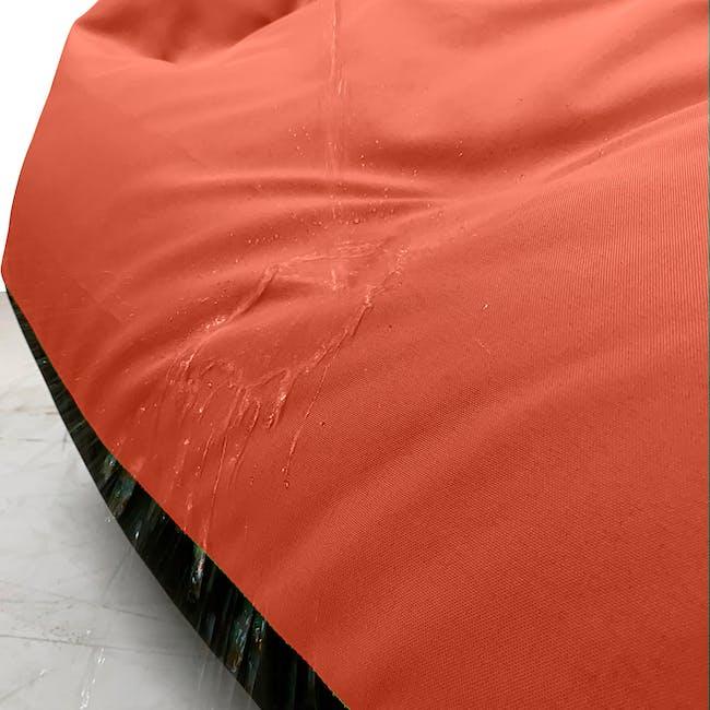 Splash Waterproof Outdoor Triangle Bean Bag - Orange - 1