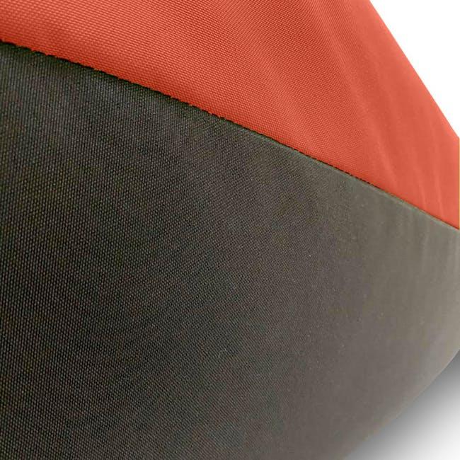 Splash Waterproof Outdoor Triangle Bean Bag - Orange - 4
