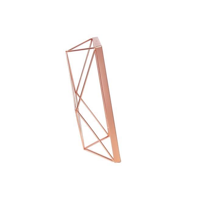 Prisma Rectangle Photo Display - Copper - 2