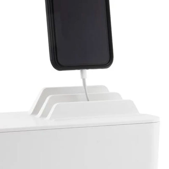 Bluelounge Cablebox Mini Station - White - 2