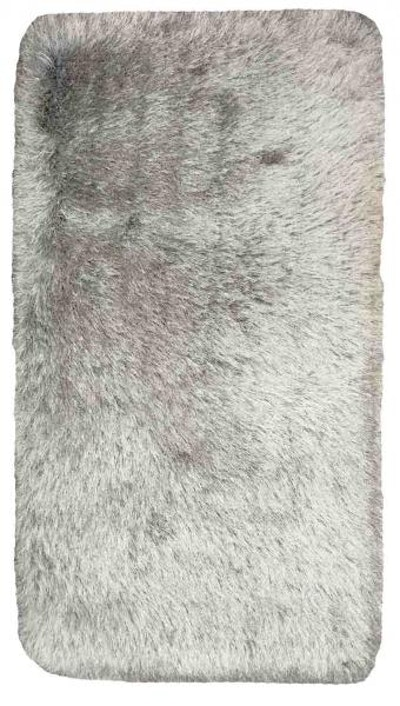 Shaggy Elegance Carpet - Frozen Grey - Image 2