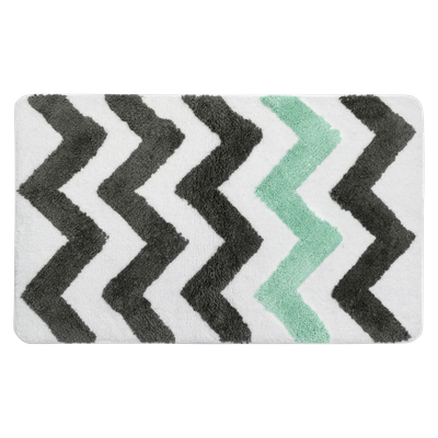 City Chevron Mat - Mint - Image 1