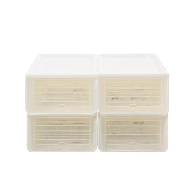 Ladies' Sliding Lid Shoe Box (Pack of 4) - 2