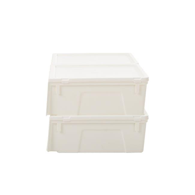 Ladies' Sliding Lid Shoe Box (Pack of 4) - 3