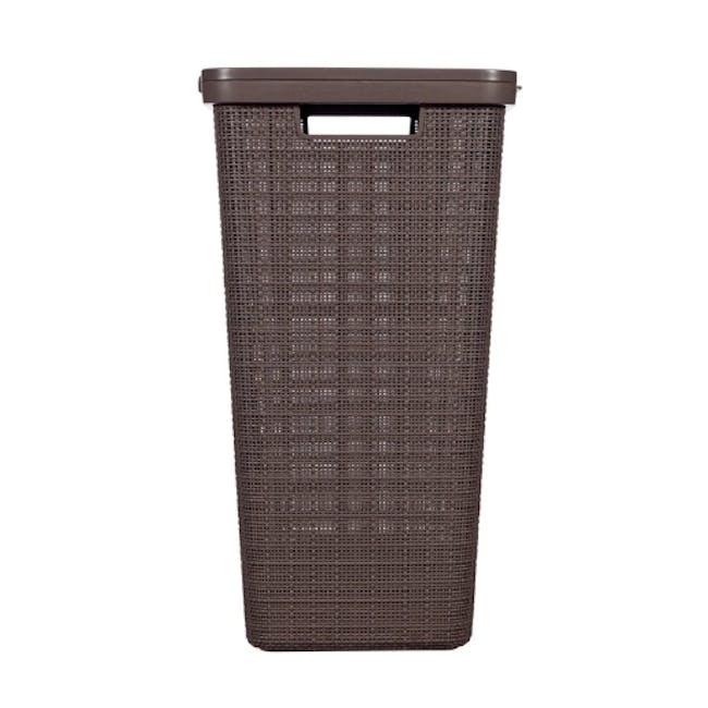 Jute Laundry Hamper 58L - Peppercorn - 3