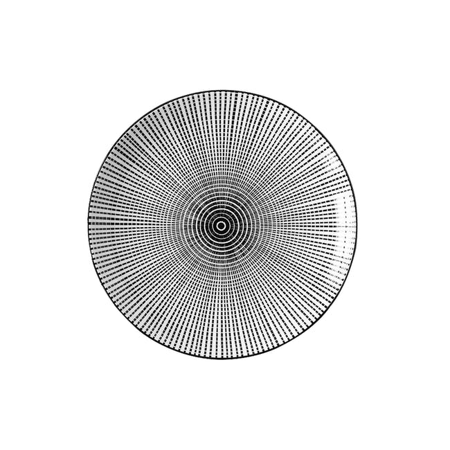 Table Matters Scattered Lines Plate (3 Sizes) - 0