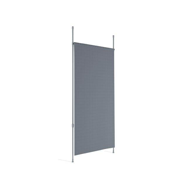 Anywhere Multipurpose Curtain Rod - Silver - 3