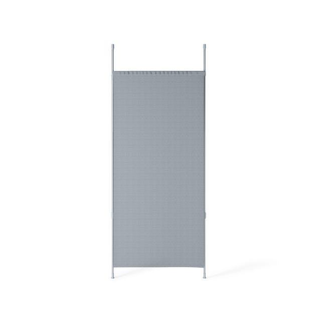Anywhere Multipurpose Curtain Rod - Silver - 2