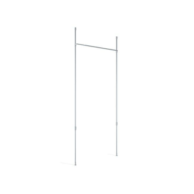 Anywhere Multipurpose Curtain Rod - Silver - 6