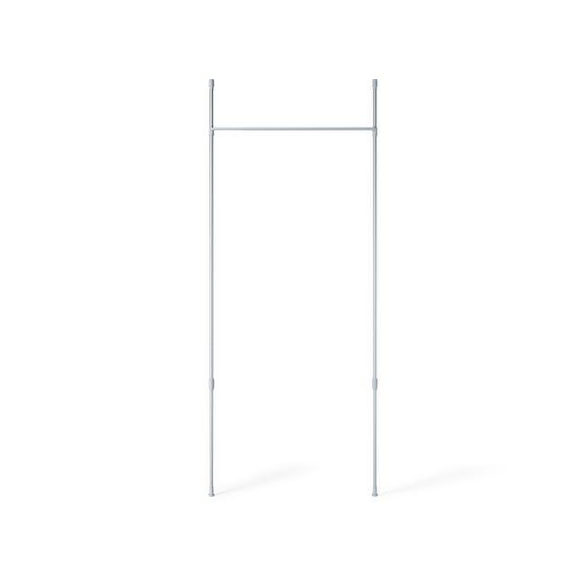 Anywhere Multipurpose Curtain Rod - Silver - 5