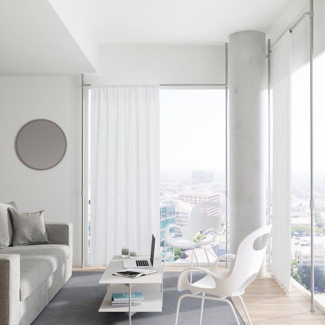 Anywhere Multipurpose Curtain Rod - Silver - 1