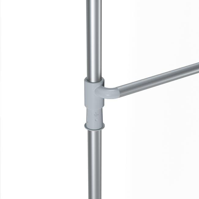 Anywhere Multipurpose Curtain Rod - Silver - 7