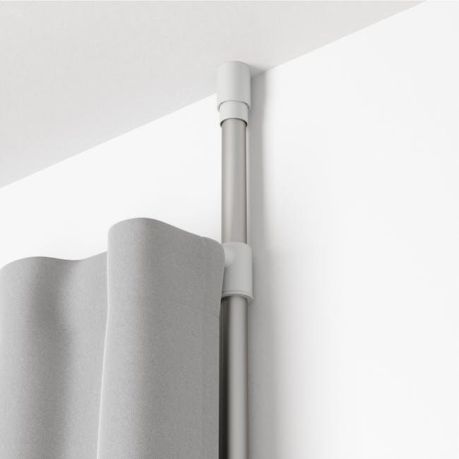Anywhere Multipurpose Curtain Rod - Silver - 4