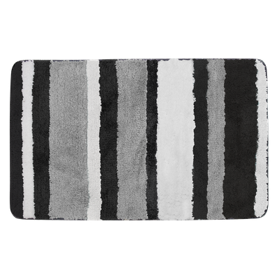 Modernity Striped Mat - Black - Image 1