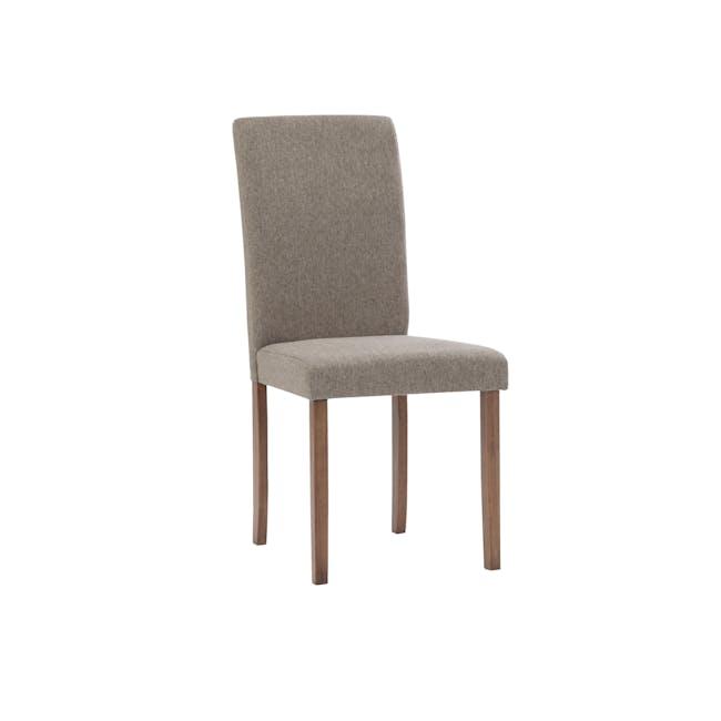 Dahlia Dining Chair - Cocoa, Tan (Fabric) - 0