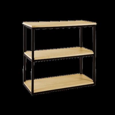 Brittany 3-Tier Shelf - Oak - Image 2
