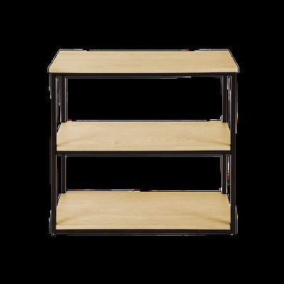 Brittany 3-Tier Shelf - Oak - Image 1
