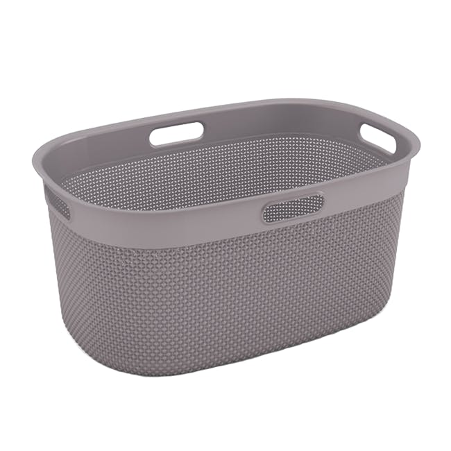 Filo Laundry Basket - Colonial Taupe - 0