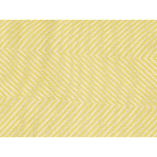 Jordie Stripe Throw - Canary - 3