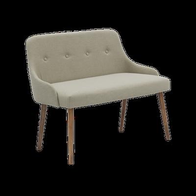 Loren Bench 1m - Khaki - Image 2