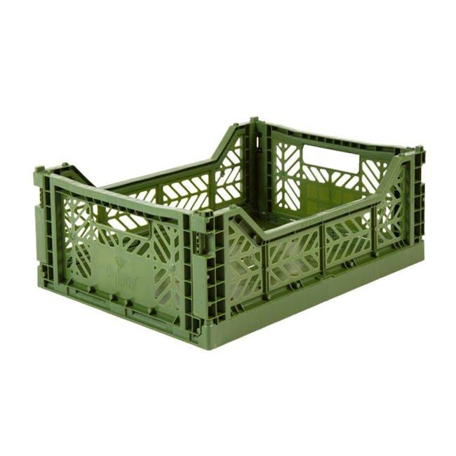 Aykasa Foldable Midibox - Khaki Green - 0
