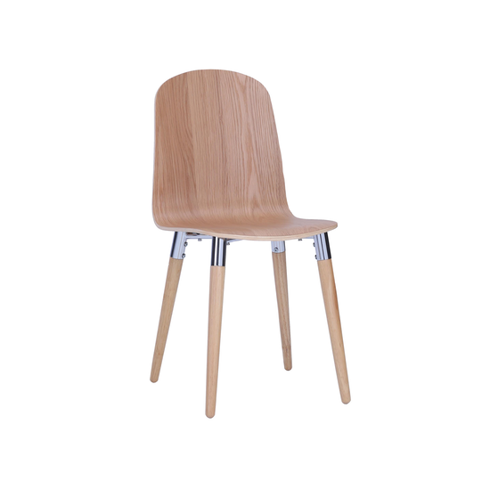 Preloved - (Display Piece) JazzDining Chair - Oak