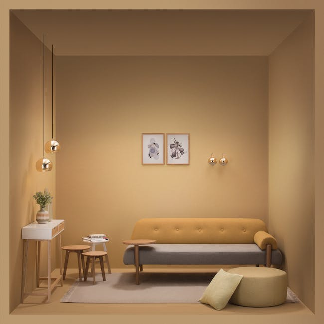 Anivia Daybed - Yellow - 4