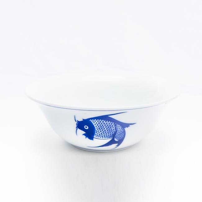 Blue Carp 6 Inch Multi Usage Bowl (Set of 3) - 1