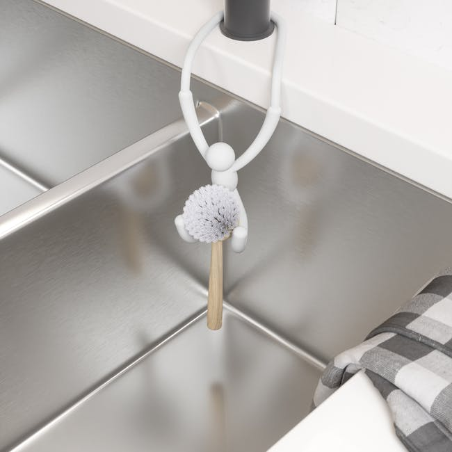 Buddy Flex Sink Caddy - White - 8