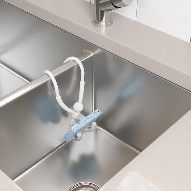 Buddy Flex Sink Caddy - White - 1