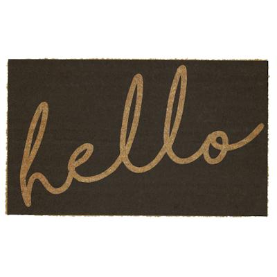 Hello Coir Door Mat - Image 1