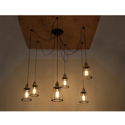 Kalle Caged Chandelier - Image 2