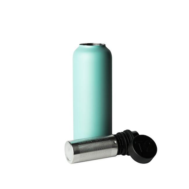 T2 Stainless Steel Flask - Aqua - 0