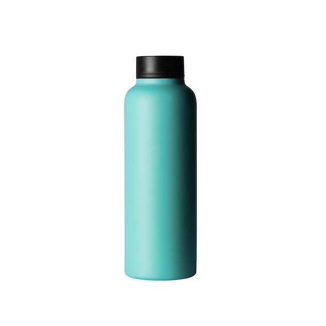 T2 Stainless Steel Flask - Aqua - 1