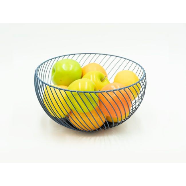 Rhea Wire Basket - Black - 1