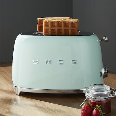 Smeg 2-Slice Toaster -Pastel Green