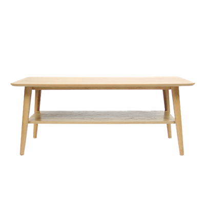 (As-is) Blythe Coffee Table - Natural - 3 - Image 1