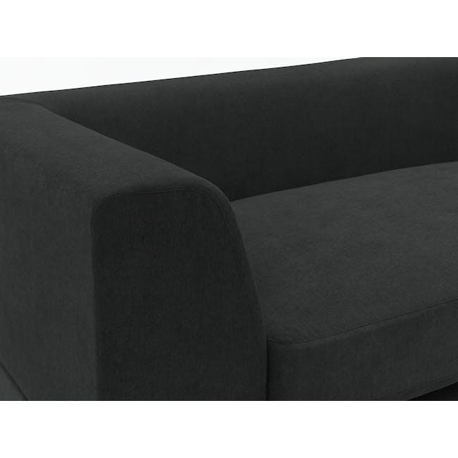 Abby L-Shaped Lounge Sofa - Granite - 5