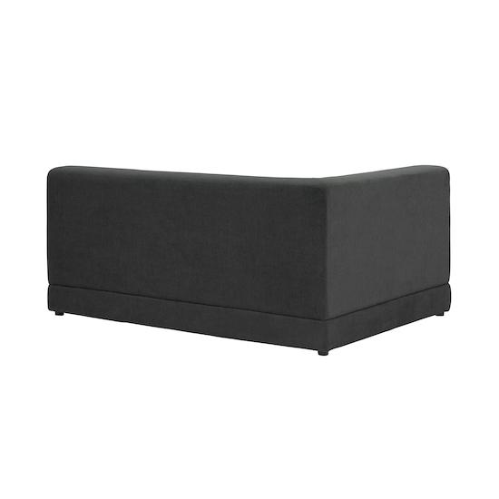 HipVan Bundles - Abby L-Shaped Lounge Sofa - Granite
